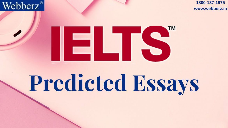 IELTS Essay Prediction from September to December 2021