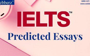 IELTS Predicted Essays